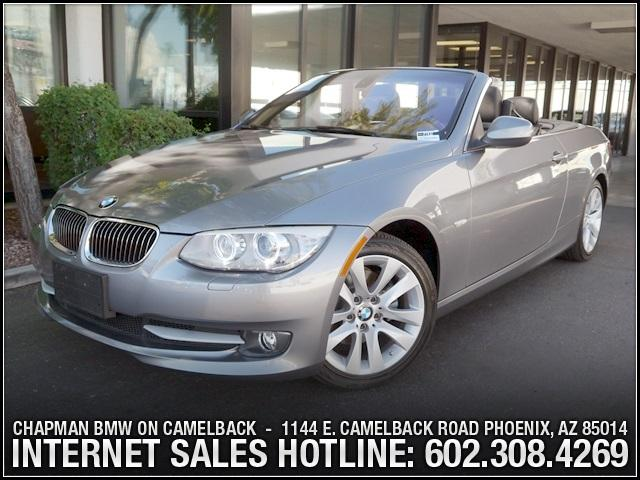 2011 BMW 3-Series Conv 328i Valu Pkg 22332 miles 6023852286Chapman BMW on Camelbacks Happier