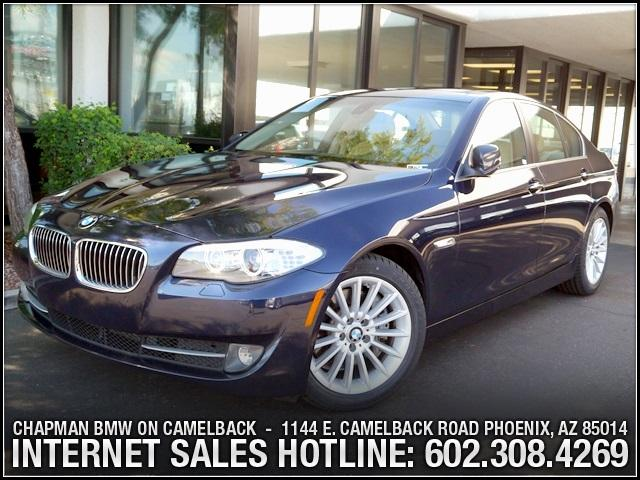 2011 BMW 5-Series 535i PremConv Pkg 36864 miles 6023852286Chapman BMW on Camelbacks Happier