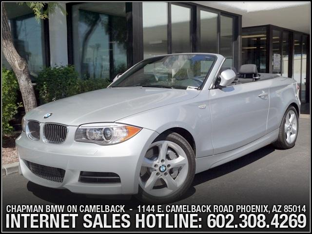 2013 BMW 1-Series 135i Conv Prem Pkg 9495 miles 6023852286Chapman BMW on Camelbacks Happier N