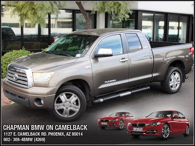 2007 Toyota Tundra Double 57L V8 LTD 4WD 98673 miles 1127 E Camelback BUY WITH CONFIDENCE