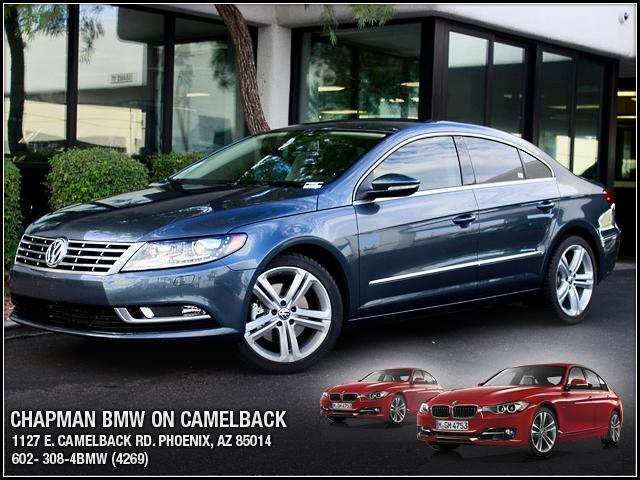 2013 Volkswagen CC 21369 miles 1127 E Camelback BUY WITH CONFIDENCE Chapman BMW is locate