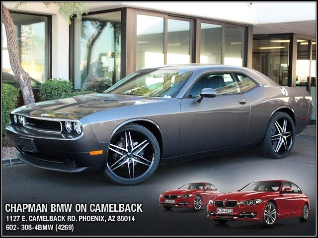 2013 Dodge Challenger 12382 miles 1127 E Camelback BUY WITH CONFIDENCE Chapman BMW is loc