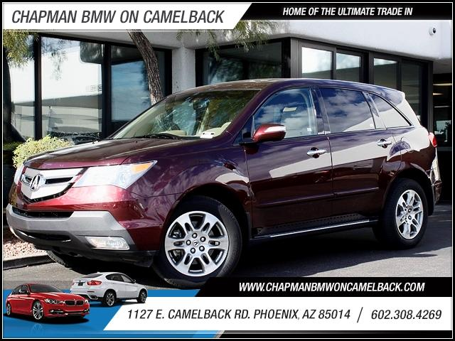 2009 Acura MDX TechEnt Pkg AWD 42404 miles 1127 E Camelback BUY WITH CONFIDENCE Chapman