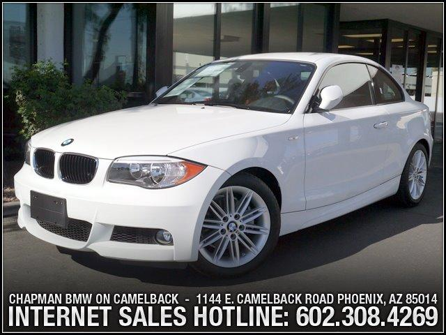 2013 BMW 1-Series 128i M Sport Pkg 1016 miles 6023852286Chapman BMW on Camelbacks Happier New