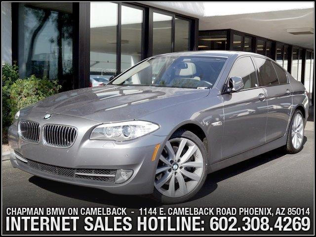 2011 BMW 5-Series 535i Prem 2Sport Pkg 31289 miles 6023852286Chapman BMW on Camelbacks Happi