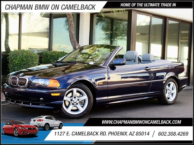 2003 BMW 3-Series Conv 325Ci 50591 miles 1127 E Camelback BUY WITH CONFIDENCE Chapman BMW