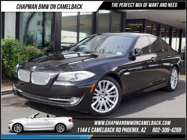 2011 BMW 5-Series 550i Prem2Sport Pkg 25149 miles 1144 E CAMELBACK RD March CPO Sales Event