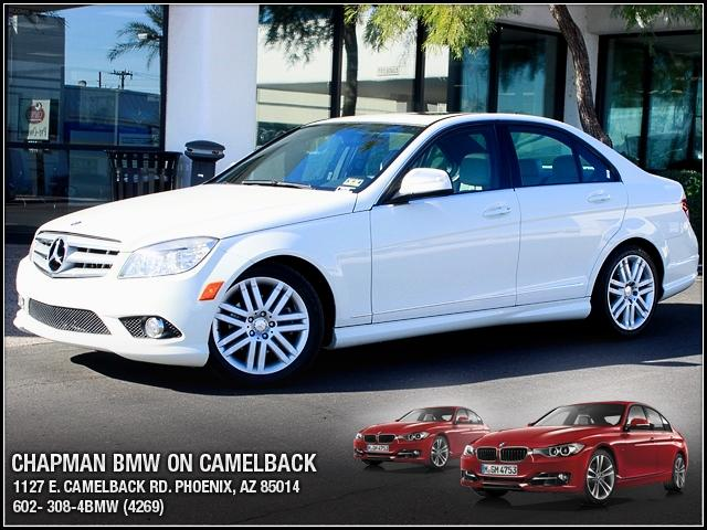 2009 Mercedes C-Class 30L 62904 miles 1127 E Camelback BUY WITH CONFIDENCE Chapman BMW i