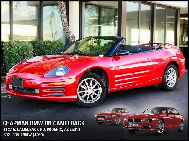 2001 Mitsubishi Eclipse Conv Spyder GS 95533 miles 1127 E Camelback BUY WITH CONFIDENCE C
