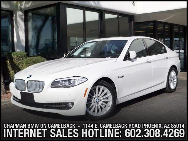 2013 BMW 5-Series ActiveHybrid 5 PremSport Pkg 12226 miles 1144 E Camelback The BMW Certified E