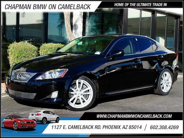 2006 Lexus IS 350 Sport 63896 miles 1127 E Camelback BUY WITH CONFIDENCE Chapman BMW is l