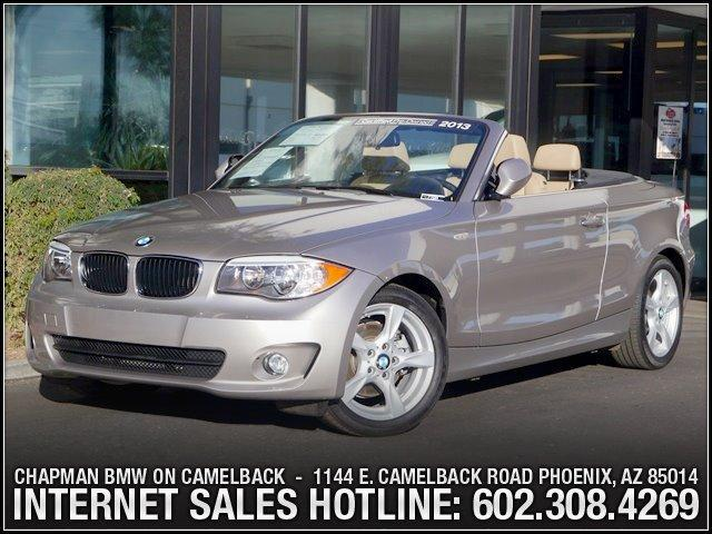 2013 BMW 1-Series 128i Conv Prem Pkg 9426 miles 6023852286Chapman BMW on Camelbacks Happier N