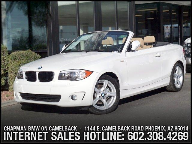 2013 BMW 1-Series 128i Conv Prem Pkg 12080 miles 6023852286Chapman BMW on Camelbacks Happier