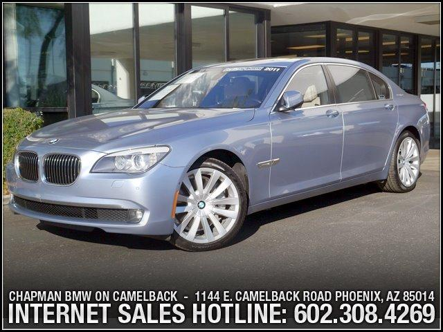 2011 BMW 7-Series 750Li AH NavRear Ent Pkg 40594 miles 6023852286Chapman BMW on Camelbacks H