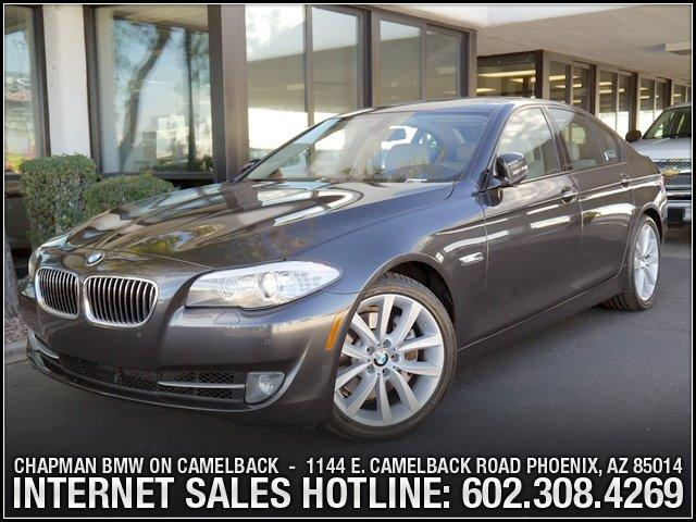 2011 BMW 5-Series 535i PremSportNav Pkg 48410 miles 1144 E CAMELBACK RD March CPO Sales Event