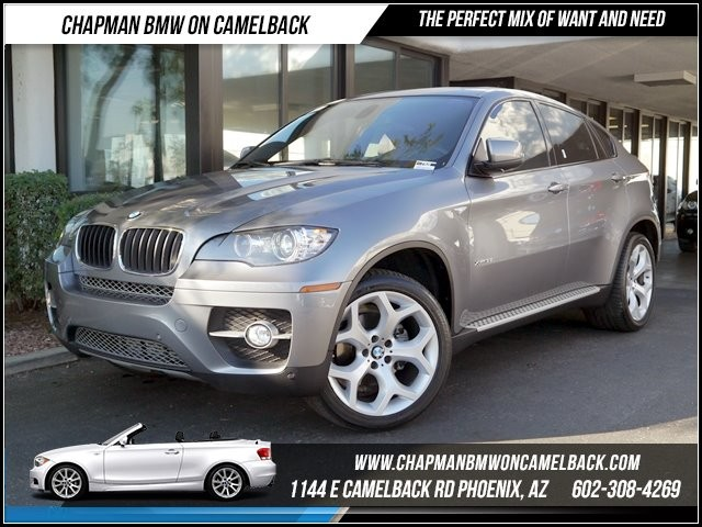2011 BMW X6 35i AWD PremTech Pkg 44100 miles 6023852286Chapman BMW on Camelbacks Happier New