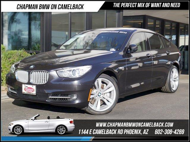 2010 BMW 5-Series Gran Turismo 550i GT Sport Pkg NAV 30130 miles Sport Package Camera Package Co
