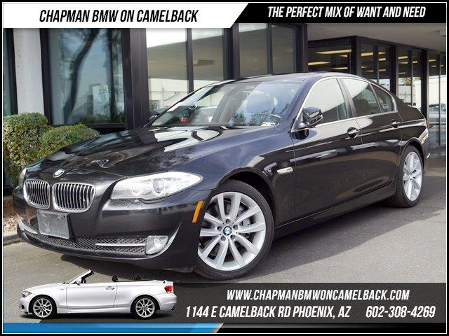 2011 BMW 5-Series 535i xDrive PremCold Weather 44614 miles Premium Package Cold Weather Package