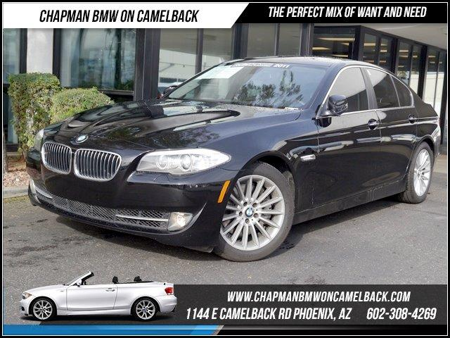 2011 BMW 5-Series 535i PremConv Pkg 44065 miles 1144 E CAMELBACK RD March CPO Sales Event Al