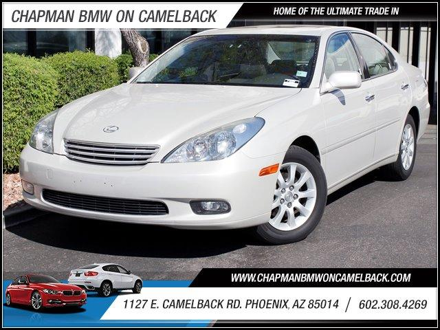 2004 Lexus ES 330 80429 miles 1127 E Camelback BUY WITH CONFIDENCE Chapman BMW is located