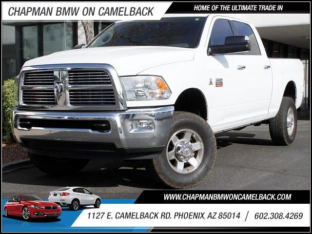 2010 Dodge Ram 2500 Crew Cab 4WD 55504 miles 1127 E Camelback BUY WITH CONFIDENCE Chapman