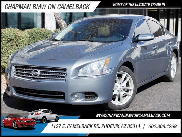 2010 Nissan Maxima CVT 35026 miles 1127 E Camelback BUY WITH CONFIDENCE Chapman BMW is lo