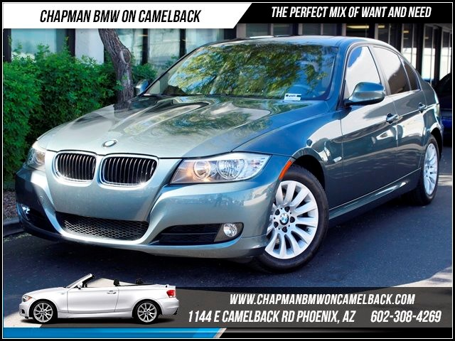 2009 BMW 3-Series Sdn 328i 41862 miles Hi-fi sound system Dark Burl Walnut wood trim  Cruise con