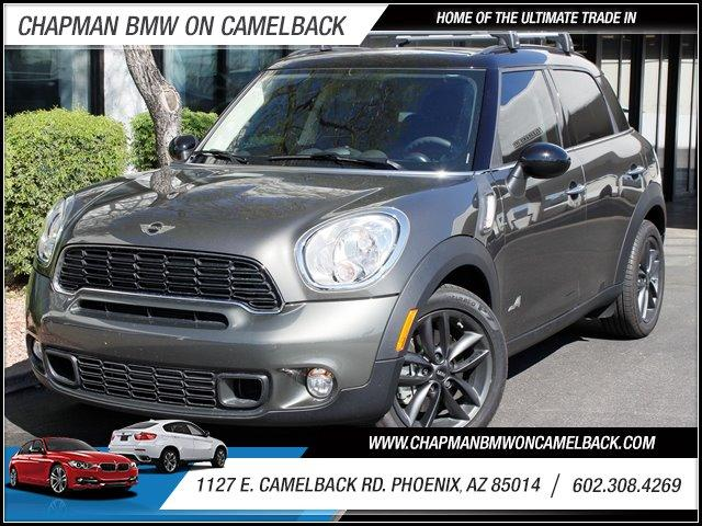 2013 MINI Cooper Countryman S ALL4 AWD 11352 miles 1127 E Camelback BUY WITH CONFIDENCE C