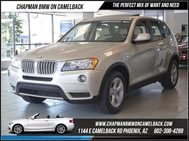 2011 BMW X3 28i AWD PremTech Pkg 48035 miles 1144 E CAMELBACK RD March CPO Sales Event All 2