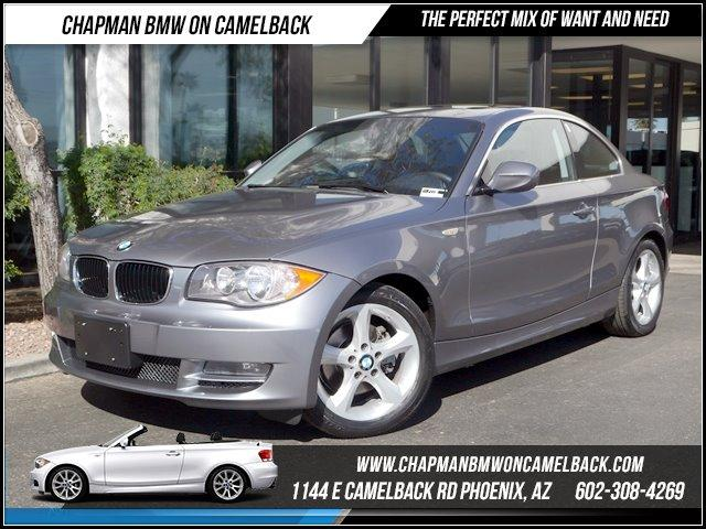 2011 BMW 1-Series 128i 36306 miles 1144 E CAMELBACK RD March CPO Sales Event All 2011 CPO BMW