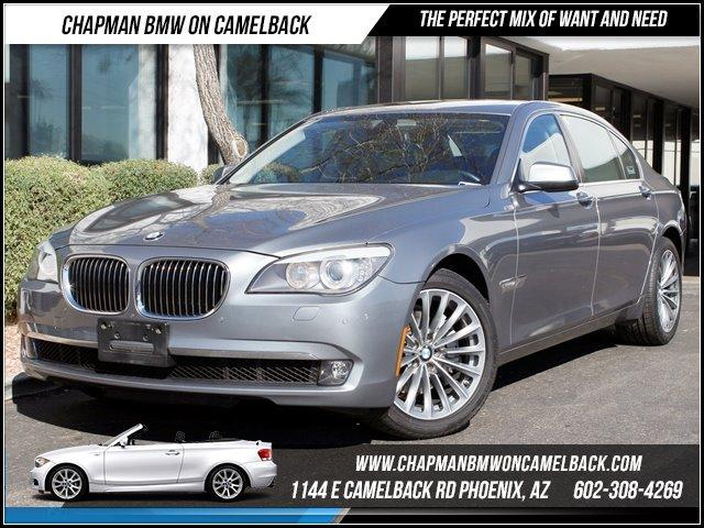 2011 BMW 7-Series 740Li Luxury Seat Pkg NAV 30148 miles 1144 E CAMELBACK RD March CPO Sales Eve