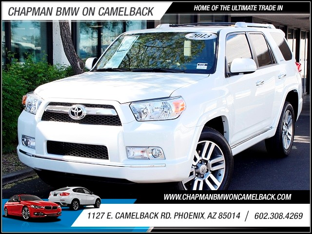 2013 Toyota 4Runner Limited 13263 miles Sport Suspension Keyless Start MP3 SiriiusXM Satellite