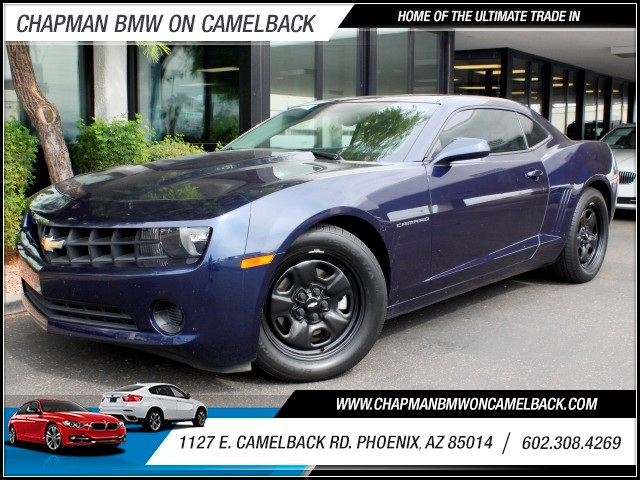 2011 Chevrolet Camaro LS 30323 miles 1127 E Camelback BUY WITH CONFIDENCE Chapman BMW is