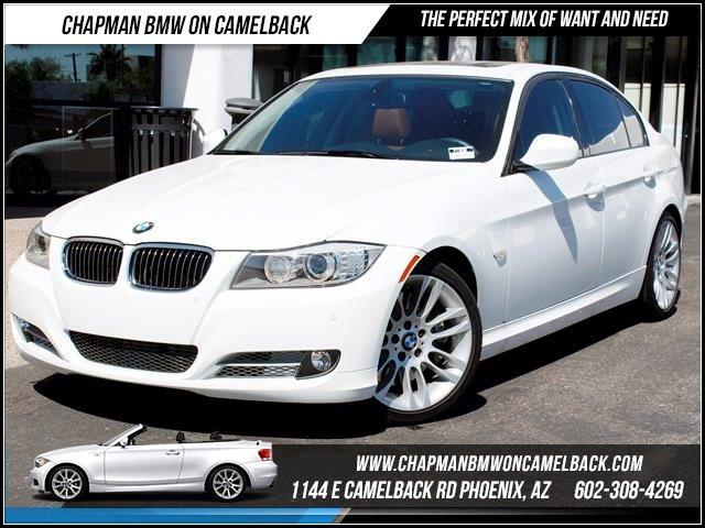 2011 BMW 3-Series Sdn 335d PremSport Pkg NAV 23730 miles 1144 E CAMELBACK RD March CPO Sales E