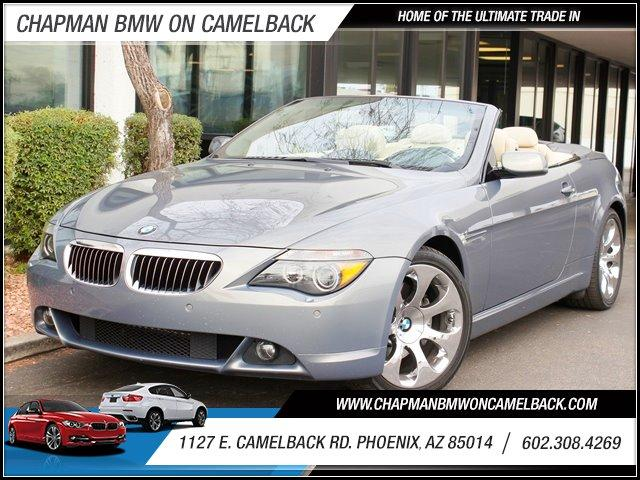 2006 BMW 6-Series 650Ci Conv 48201 miles 1127 E Camelback BUY WITH CONFIDENCE Chapman BMW