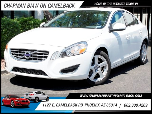 2012 Volvo S60 T5 39621 miles One Previous Owner Phone wireless data link Bluetooth Cruise contr
