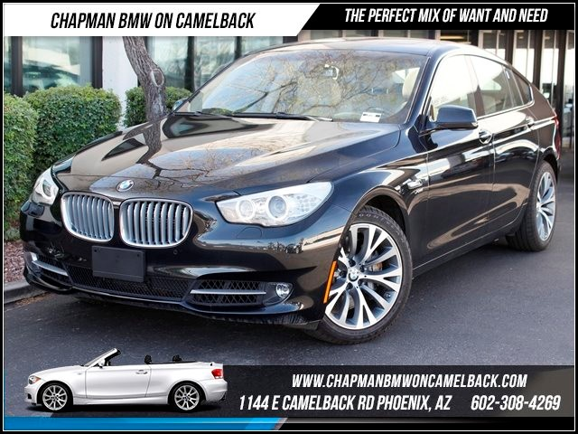 2011 BMW 5-Series GT 550i xDrive PremSportDrivers A 41193 miles 1144 E CAMELBACK RD March CPO