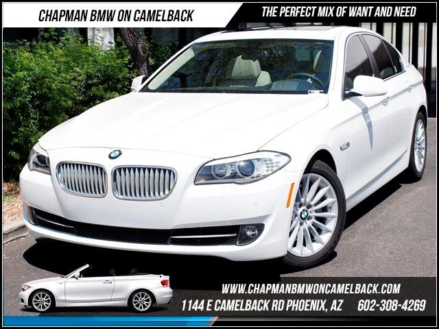 2013 BMW 5-Series ActiveHybrid 5 2650 miles Premium Package Technology Package Rear view camera