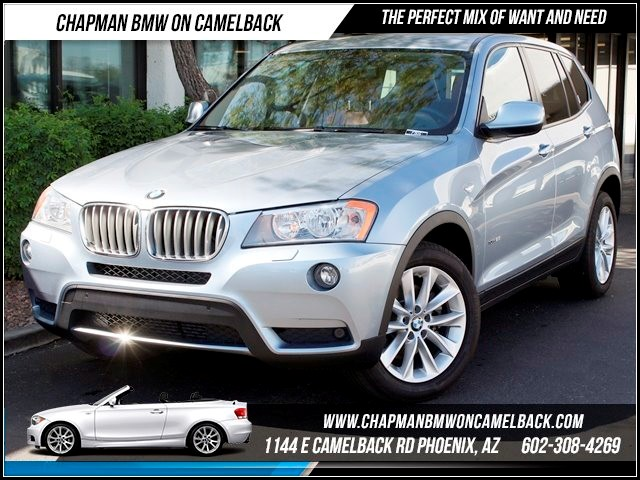 2014 BMW X3 28i AWD PremTech Pkg NAV 15947 miles 1144 E Camelback BMW Executive Demo saleChap