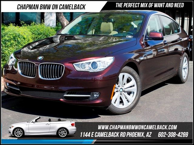 2013 BMW 5-Series GT 535i PremDrivers Asst Pkg 10572 miles 1144 E Camelback BMW Executive Demo