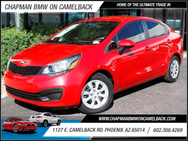 2013 Kia Rio LX 24302 miles 1127 E Camelback BUY WITH CONFIDENCE Chapman BMW is located a