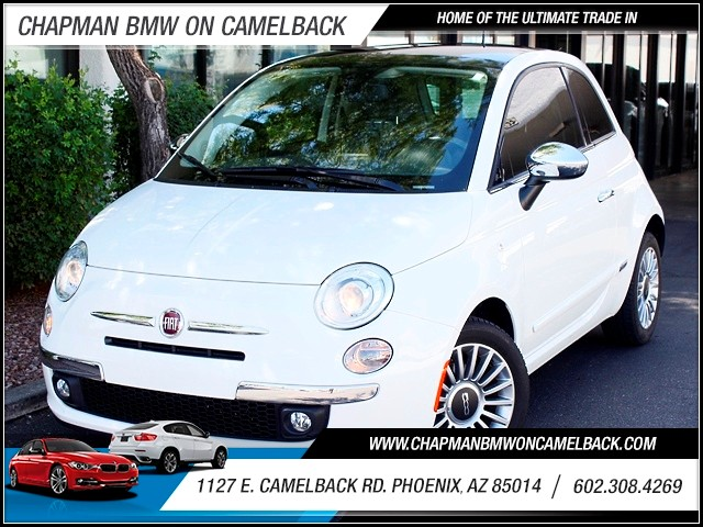 2012 FIAT 500 Lounge 20893 miles 1127 E Camelback BUY WITH CONFIDENCE Chapman BMW Used Ca