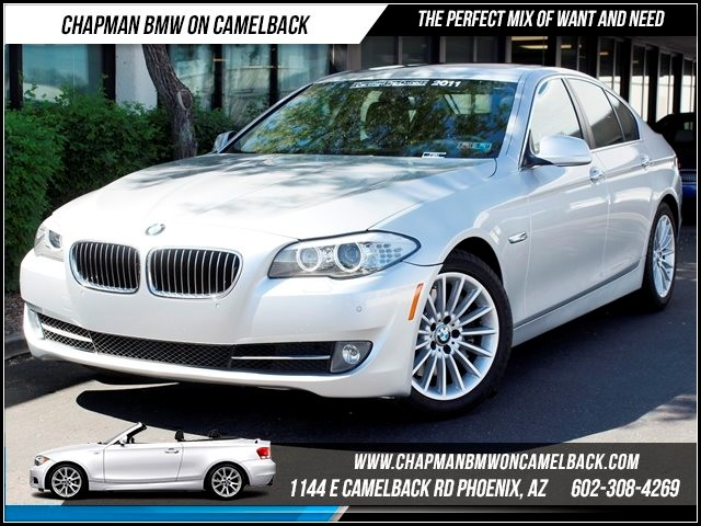 2011 BMW 5-Series 535i 49361 miles 1144 E Camelback Chapman BMW on Camelback in Phoenix is the C