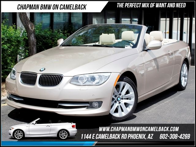 2013 BMW 3-Series Conv 328i Prem Pkg 18655 miles 1144 E Camelback BMW Executive Demo saleChapm