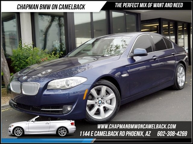 2013 BMW 5-Series 550i 12310 miles 1144 E Camelback BMW Executive Demo saleChapman BMW on Came