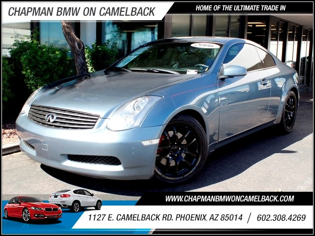 2006 Infiniti G35 47325 miles 1127 E Camelback BUY WITH CONFIDENCE Chapman BMW is located