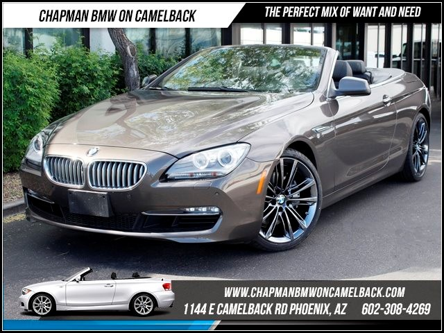 2012 BMW 6-Series  650i Nav 42934 miles 1144 E Camelback Chapman BMW on Camelback in Phoenix is