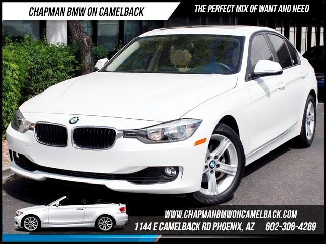 2013 BMW 3-Series Sdn 328i Prem Pkg Heated Seats 15684 miles 1144 E Camelback BMW Executive Demo