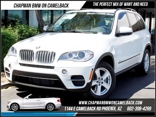2012 BMW X5 xDrive35d Prem Tech 3rd Row 8167 miles 1144 E Camelback Chapman BMW on Camelback in