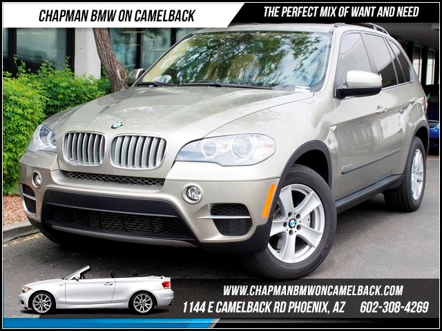2011 BMW X5 35d Prem Pkg 3rd Row seats 35436 miles 1144 E Camelback Chapman BMW on Camelback in